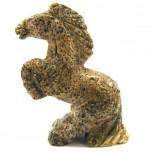 Horse Standing 2.25 Inch Figurine - Picture Jasper