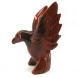 Hummingbird 2.25 Inch Figurine - Rainbow Jasper
