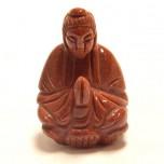Kwin Yin 2.25 Inch Figurine - Goldstone