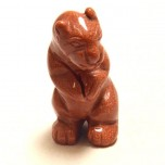 Otter Standing 2.25 Inch - Goldstone