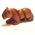 Panther 2.25 Inch Figurine - Goldstone