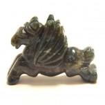 Pegasus 2.25 Inch Figurine - Fancy Jasper