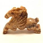 Pegasus 2.25 Inch Figurine - Picture Jasper