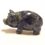 Pig Classic 2.25 Inch Figurine - Sodalite