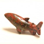 Shark 2.25 Inch Figurine - Unakite