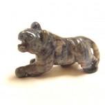 Tiger 2.25 Inch Figurine - Sodalite