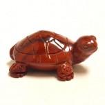 Turtle 2.25 Inch Figurine - Rainbow Jasper