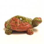 Turtle 2.25 Inch Figurine - Unakite