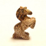 Unicorn 2.25 Inch Figurine - Picture Jasper