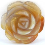 Rose 40mm Pendant - Agate