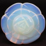 Rose 40mm Pendant - Opalite