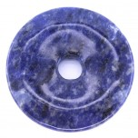 Donut 40mm Pendant - Sodalite
