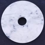 Donut 40mm Pendant - White Howlite