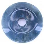 Donut 50mm Pendant - Moss Agate