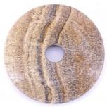Donut 50mm Pendant - Picture Jasper