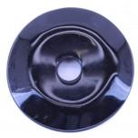Donut 50mm Pendant - Obsidian Black
