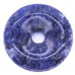 Donut 50mm Pendant - Sodalite