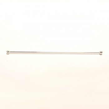 Large Hole Bead - Silver Plated Display Sticks
