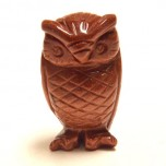 Owl 2.25 Inch Figurine - Goldstone
