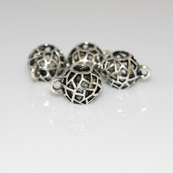 Pewter Finding Bead Charms 011