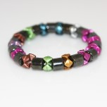 Magnetic Elastic Bracelets Bow Style Assorted Colors