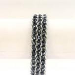 Crystal Snake Skin Bracelet - Midnight Blue