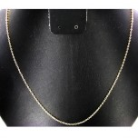 18 Inch 0.5mm Gold Plated Cable Chain