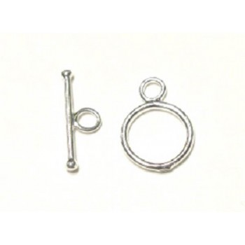 714 15mm Basic Toggle Clasp 5 Piece Packs