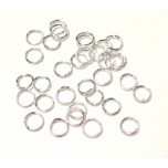 997 6mm Open Jump Ring 140 Piece Packs