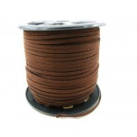 Brown Suede Spool