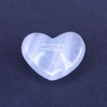 Large Gemstone Heart 1.75 Inch - Fluorite