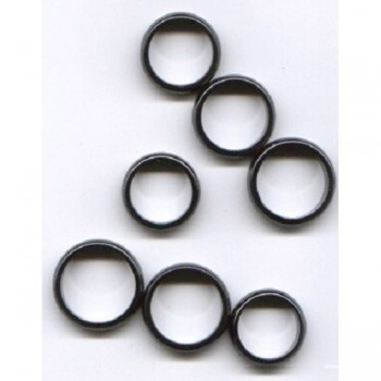 Magnetic Hematite Ring Band 10 piece pack -Size 13