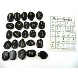 Runes - Blue Goldstone 25 pc set