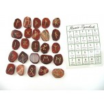 Runes - Rainbow Jasper 25 pc set