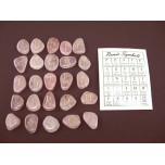 Runes - Rose Quartz 25 pc set