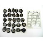 Runes - Snowflake Obsidian 25 pc set