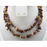 34-35 Inch Chip Necklace - Mookaite
