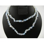34-35 Inch Chip Necklace - Opalite