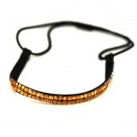 Double Row Headband - Amber