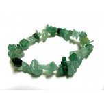 7 Inch Stretch Chip Bracelet - Aventurine