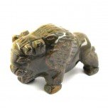 Buffalo 2.25 Inch Figurine - Tiger Eye