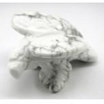 Eagle Classic 2.25 Inch Figurine - Howlite White
