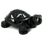 Turtle 2.25 Inch Figurine - Obsidian Black