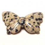 Butterfly 1.5 Inch Figurine - Dalmatian Dacite