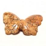 Butterfly 1.5 Inch Figurine - Picture Jasper