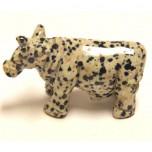 Cow 1.5 Inch Figurine - Dalmatian Dacite