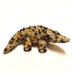 Crocodile 1.5 Inch Figurine - Dalmatian Dacite