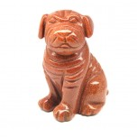 Dog (Pug) 1.5 Inch Figurine - Goldstone