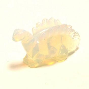 Dinosaur (Stegosaurus) 1.5 Inch Figurine - Opalite