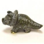 Dinosaur (Triceratops) 1.5 Inch Figurine - Verdite